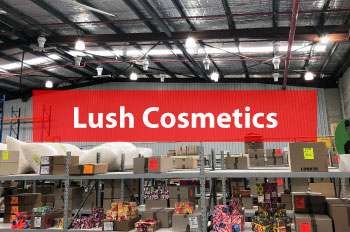 Lush Cosmetics Benefit with Airius Cooling Fans