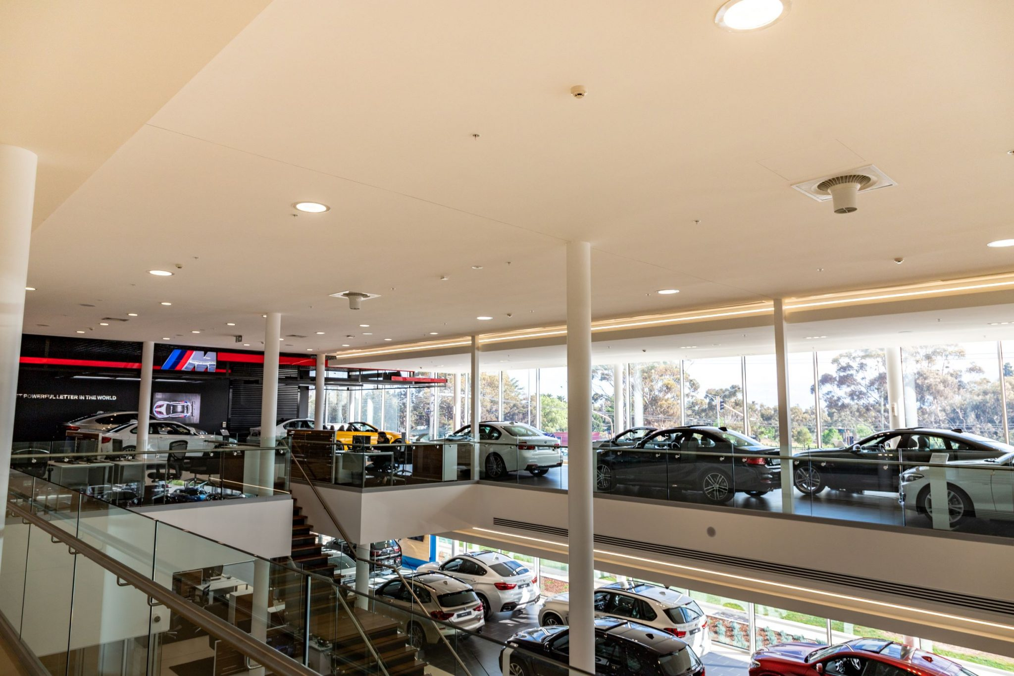 Airius Lobby Cooling Installation at BMW