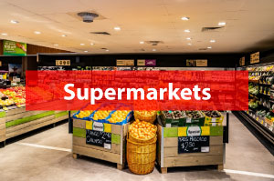 Airius Cooling Fans For Supermarkets